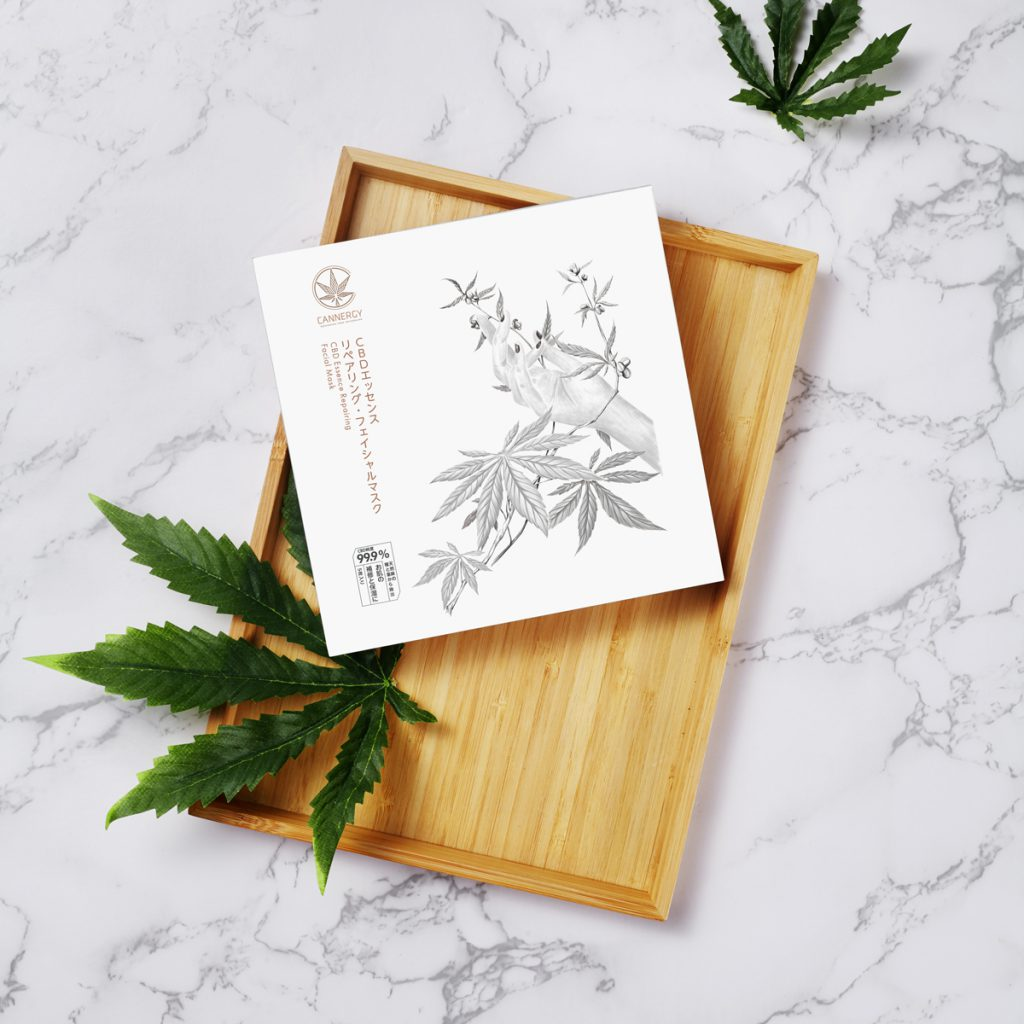 CANNERGY CBD Essence Repairing Facial Mask Image2